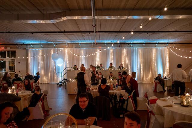 Minnesota Wedding Up Lighting